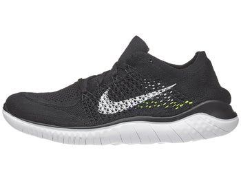 a28add23c9f Nike Free RN Flyknit 2018 Men s Shoes Black White