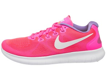 c06152b3d0 Nike Free RN 2017 Women s Shoes Racer Pink White