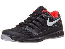 cheap for discount 9e776 09acc Promo! Chaussures Junior Nike Air Zoom Vapor 10 Noir Rouge. Tailles  Disponibles ...