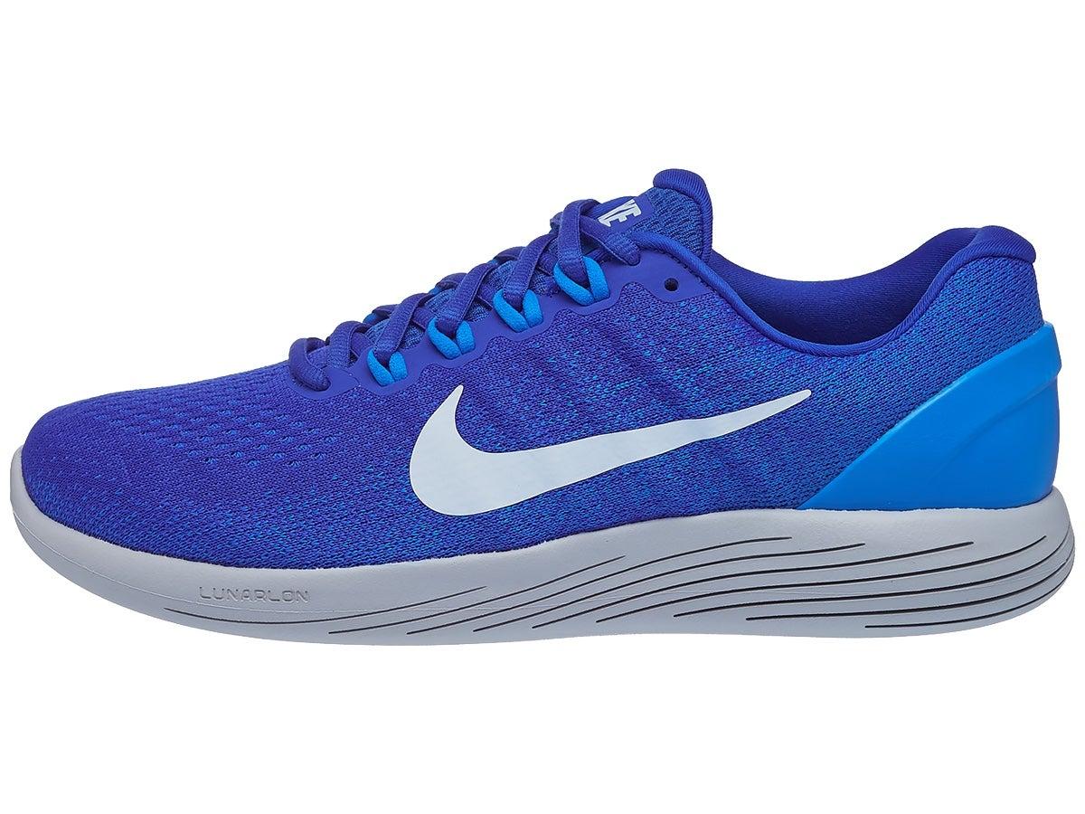Heel To Toe Drop Nike Lunarglide >> Nike Lunarglide 9 Men S Shoes Blue White
