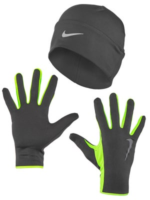 9c01bc5e4 Nike Men's Running Dri-Fit Beanie/Glove Set