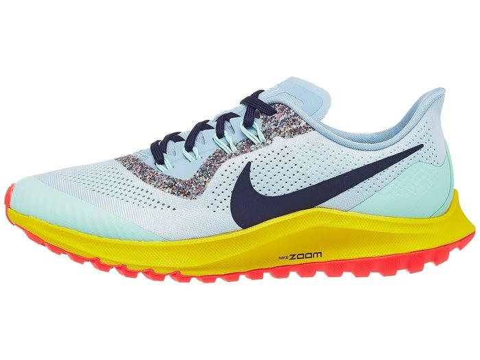 Médula ósea Aprendiz escaramuza  Zapatillas Mujer Nike Zoom Pegasus 36 Trail Aura/Azul menta
