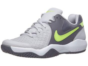 c9b0961b0162 Nike Air Zoom Resistance Damen Tennisschuh Grau Weiß Volt