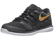 half off dd796 d06f4 Chaussures Femme Nike Air Zoom Vapor X Noir Or