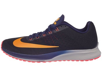 3bd83ba7af8c Nike Zoom Elite 10 Men s Shoes Black Orange Blue
