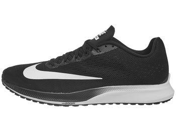 Nike Zoom Elite 10 Men s Shoes Black White 3893aa6d46
