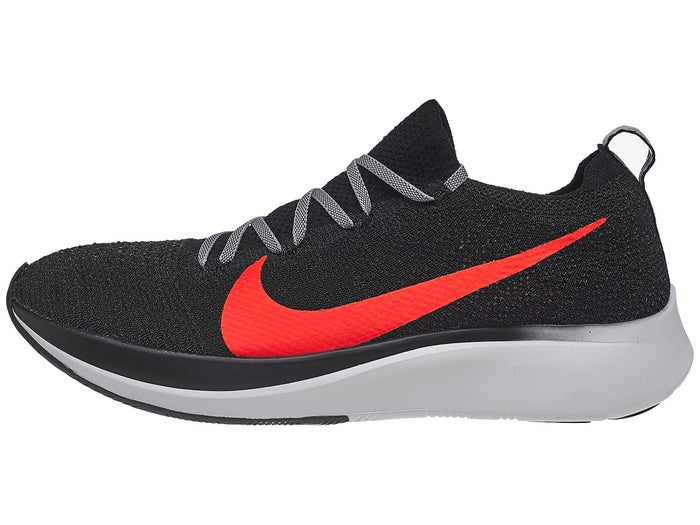info pour 6dd72 51305 Chaussures Homme Nike Zoom Fly Flyknit Noir/Cramoisi