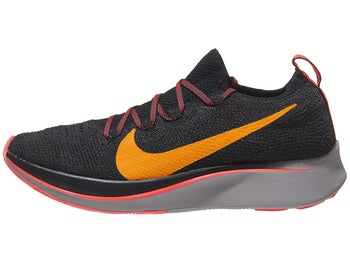 outlet store 7cb1b 2a9b8 Nike Zoom Fly Flyknit Womens Shoes Black Crimson Orange