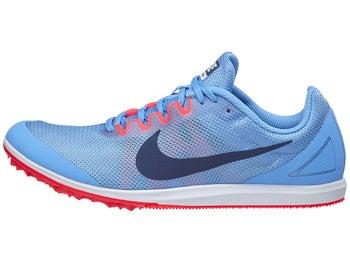 0dd179076d562 Pointes Femme Nike Zoom Rival D10 Bleu Blanc Rouge