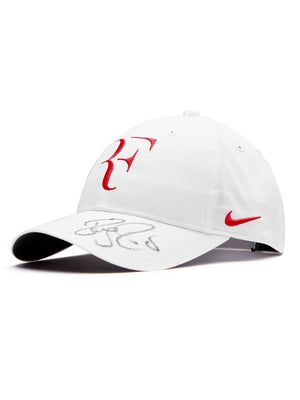 Roger Federer Autographed Hat - White 4fc7d445a02