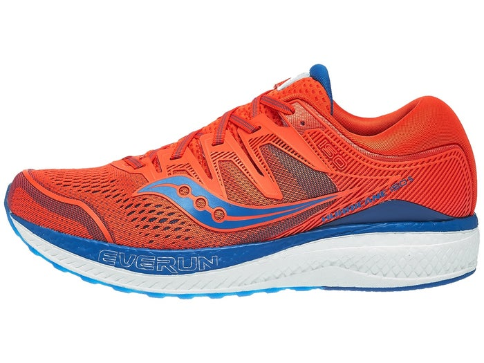 reputable site 86ac5 c008a Saucony Hurricane ISO 5 Men's Shoes Orange/Blue