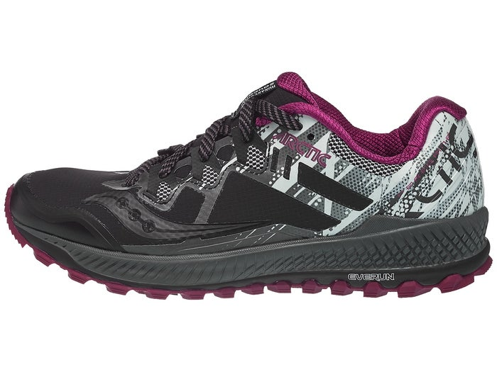 best service d6d7d 5b865 Saucony Peregrine 8 ICE+ Women's Shoes Black/White
