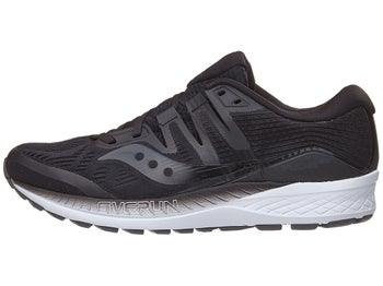 8cd64e3b67ffb Chaussures Homme Saucony Ride ISO Noir Blanc