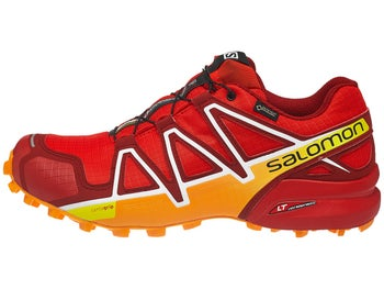 5ce8316d9c7e2 Zapatillas Hombre Salomon Speedcross 4 GTX Rojo Amarillo Marigold