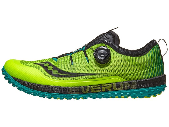 the best attitude b6b60 de4ba Scarpe Saucony Switchback ISO Citron/Black Uomo