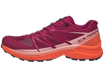 2c171f162aac Salomon Wings Pro 3 Women s Shoes Red Coral