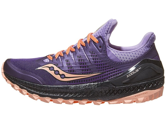 big sale 297aa 155e2 Saucony Xodus ISO 3 Women's Shoes Purple/Peach