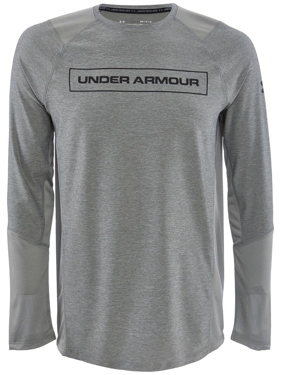 Navy All Sizes Under Armour Mk1 Graphic Mens T-shirt Sports Top