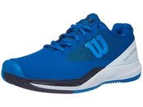premium selection e1db2 a3be8 Wilson Rush Pro 3.0 Sandplatz Herren Tennisschuh Blau/Weiß